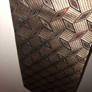 Emilio Romano 100% silk neck tie